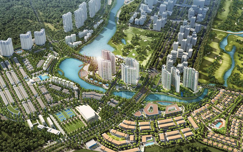 AquaBay - ECOPARK - Đô Thị Xanh Ecopark
